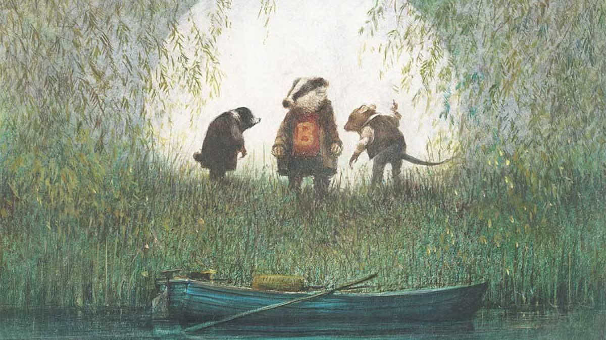 The Wind in the Willows by Kenneth Grahame, illustrated by Robert Ingpen