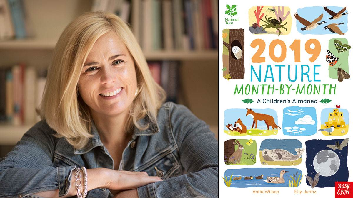 Anna Wilson and 2019 Nature Month-By-Month: A Children's Almanac