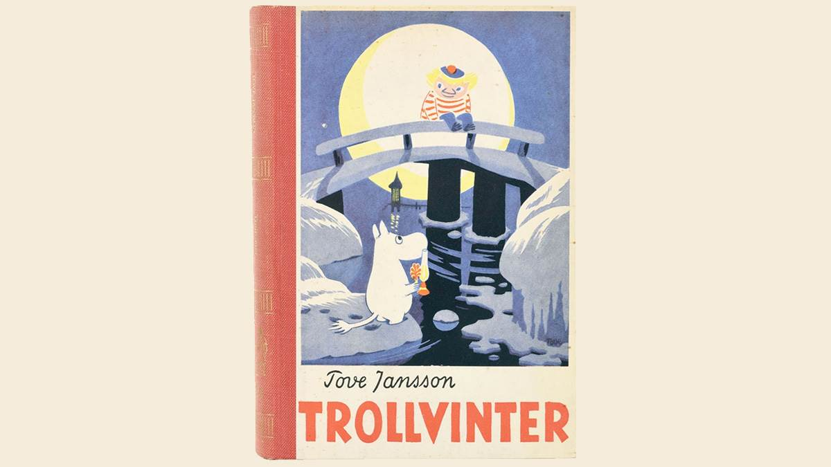 The cover of Trollvinter by Tove Jansson