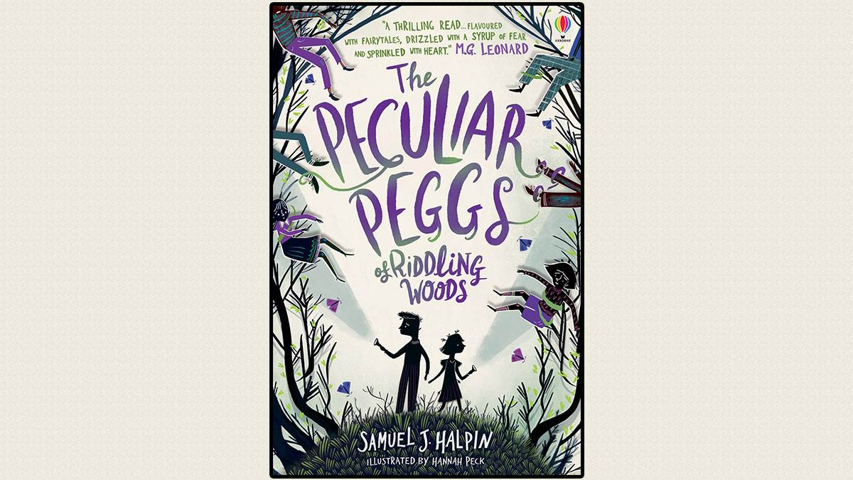 The cover of The Peculiar Peggs of Riddling Woods