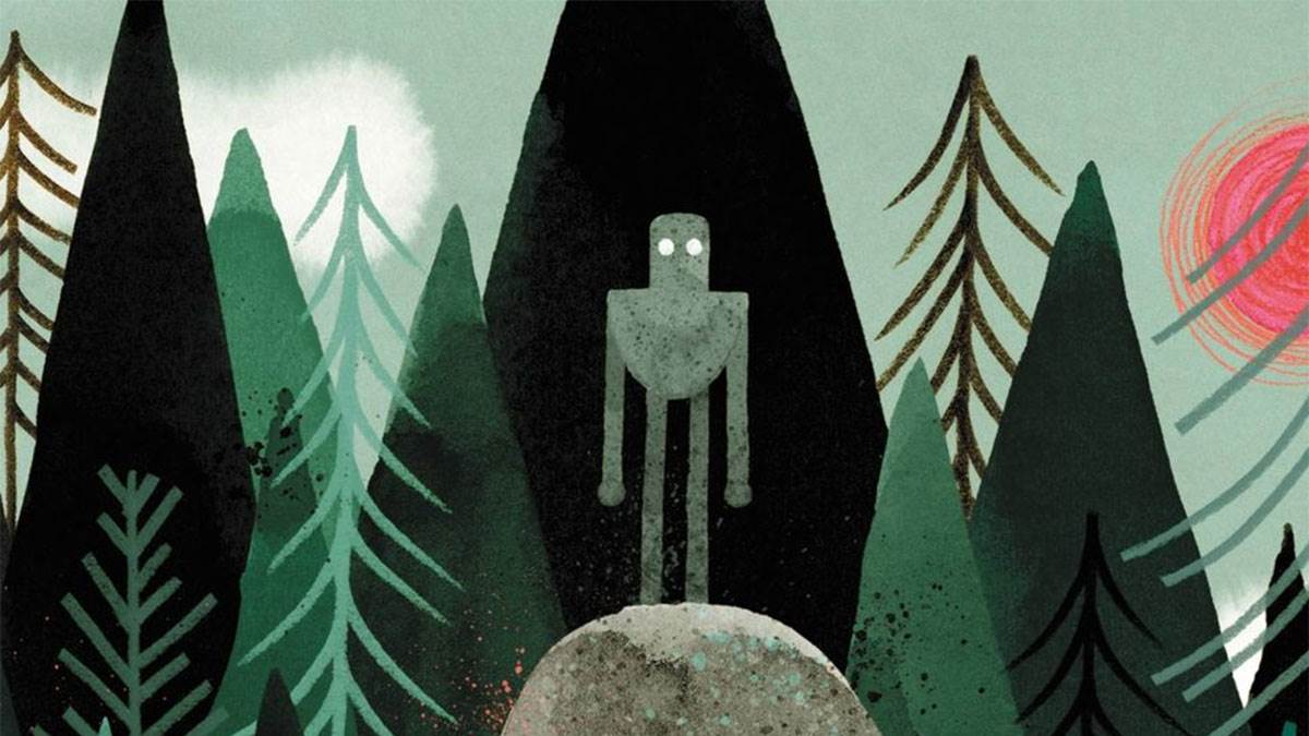 The cover of The Wild Robot