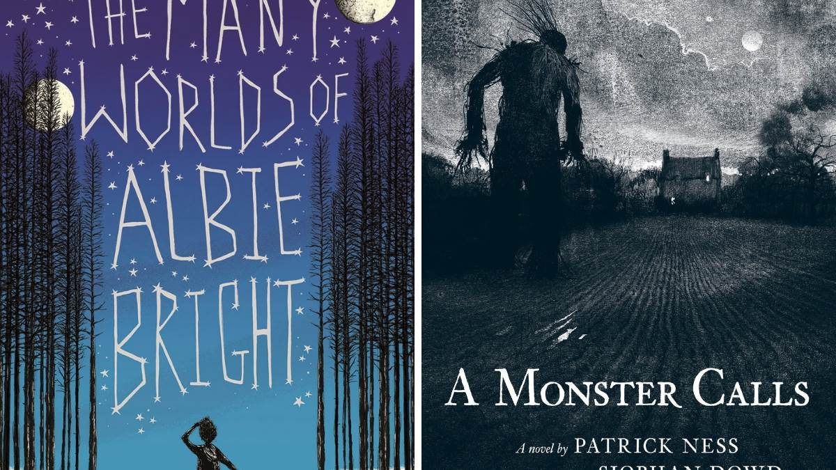 The Many Worlds of Albie Bright (Christopher Edge) and A Monster Calls (Patrick Ness)