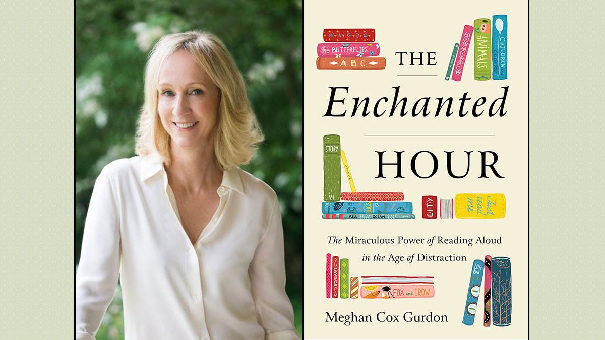 Meghan Cox Gurdon and her book The Enchanted Hour