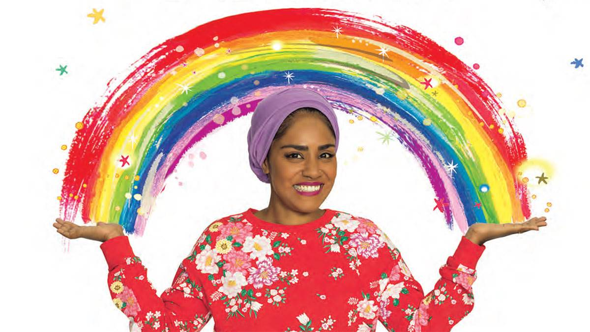 Nadiya Hussain in Bake Me a Celebration Story