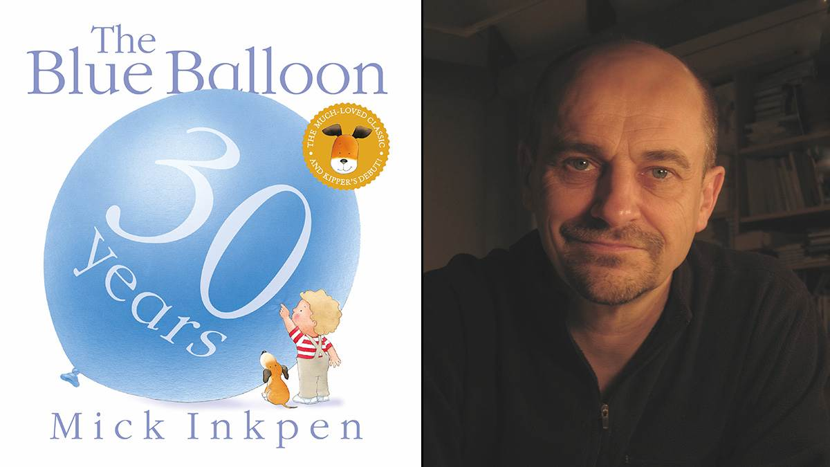 The Blue Balloon and Mick Inkpen