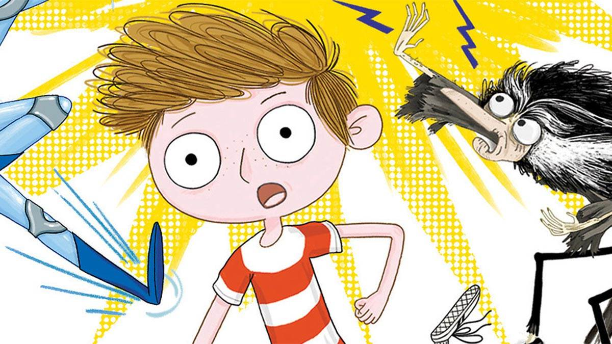 The front cover of Kid Normal and the Rogue Heroes
