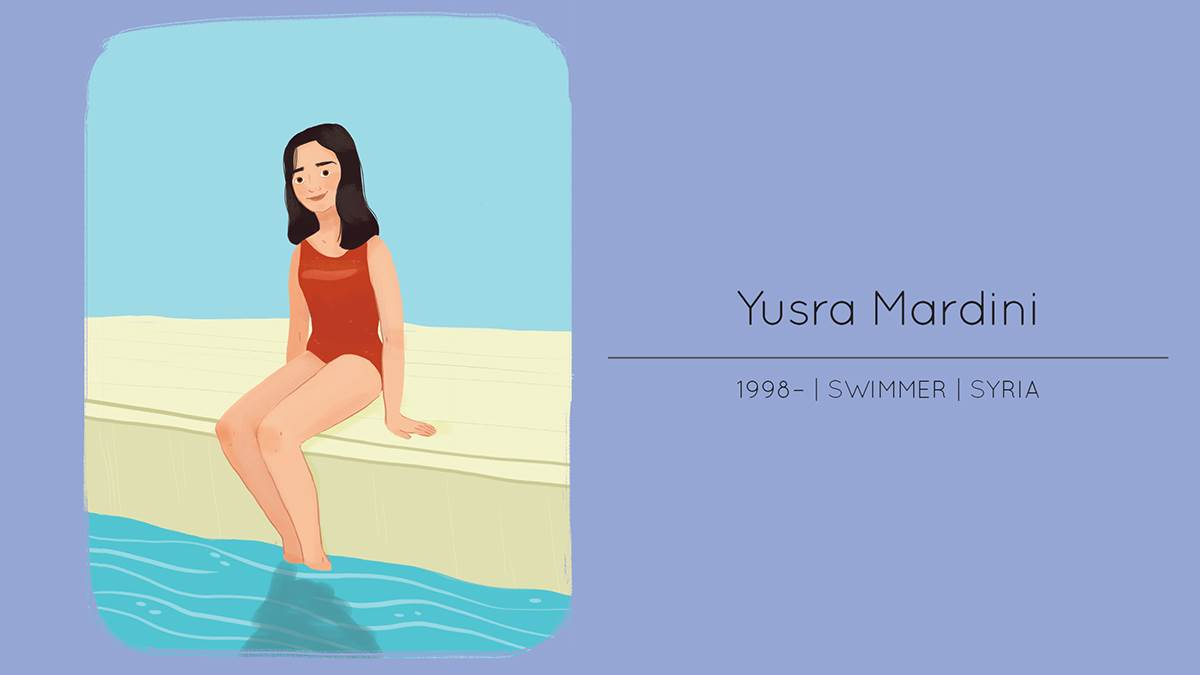 Yusra Mardini in Young Heroes