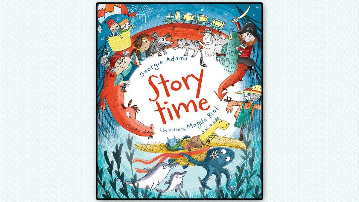 The front cover of Storytime