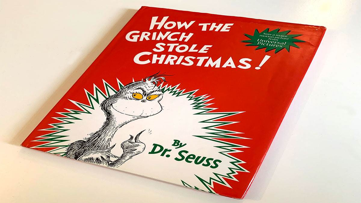 How The Grinch Stole Christmas Book Cover.Show And Tell Rob Biddulph S Favourite Books From His