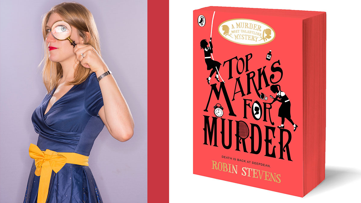 Robin Stevens, author of Murder Most Unladylike, on how her main character  Daisy is coming out as a lesbian | BookTrust