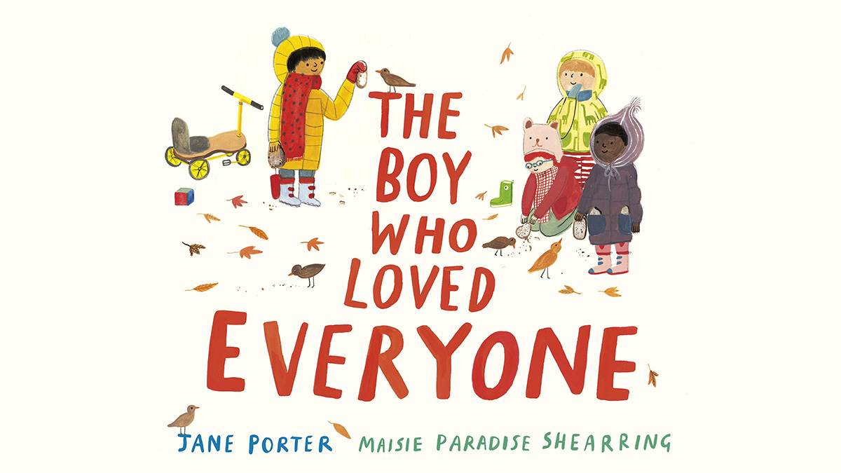 The front cover of The Boy Who Loved Everyone