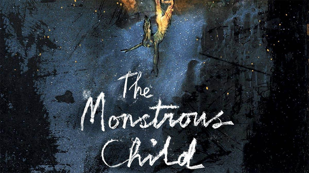 The front cover of  The Monstrous Child