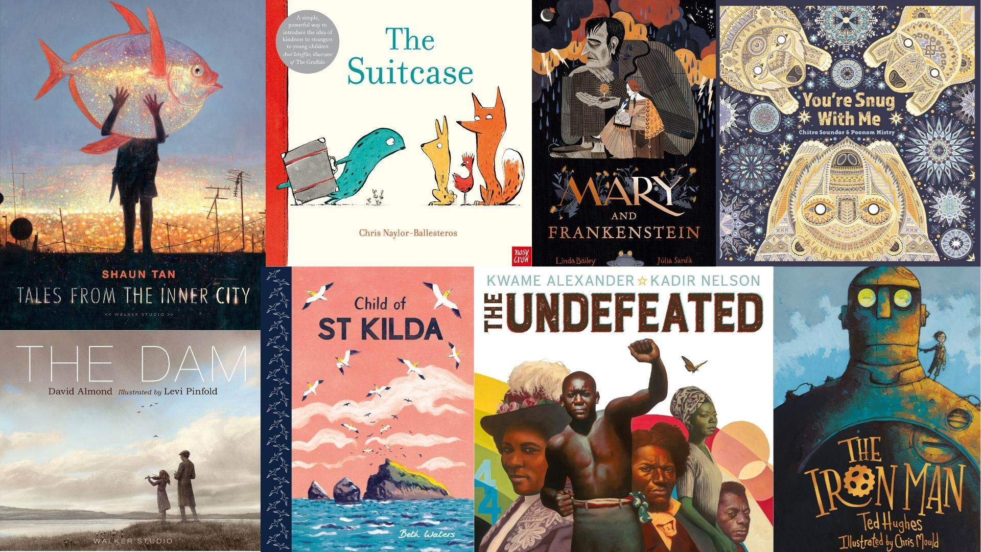 Shortlisted titles for the 2020 Kate Greenaway award