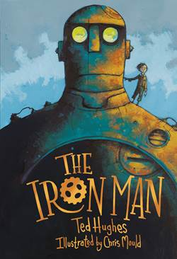 The Iron Man book cover illustrated by Chris Mould