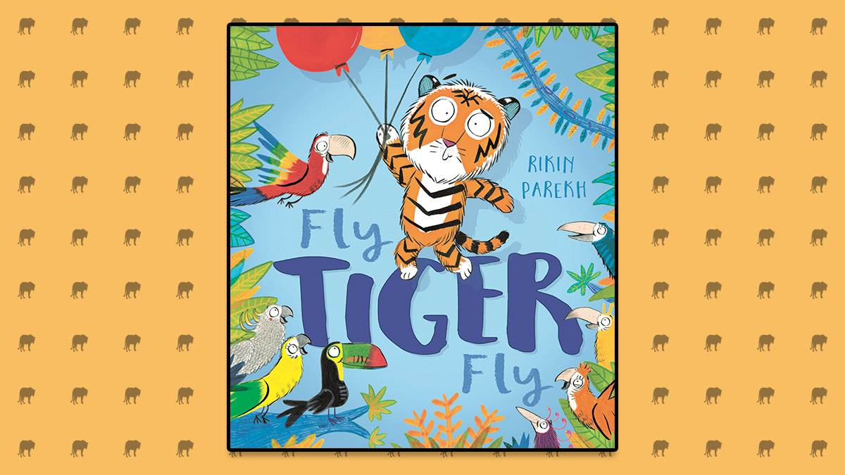 The front cover of Fly Tiger Fly