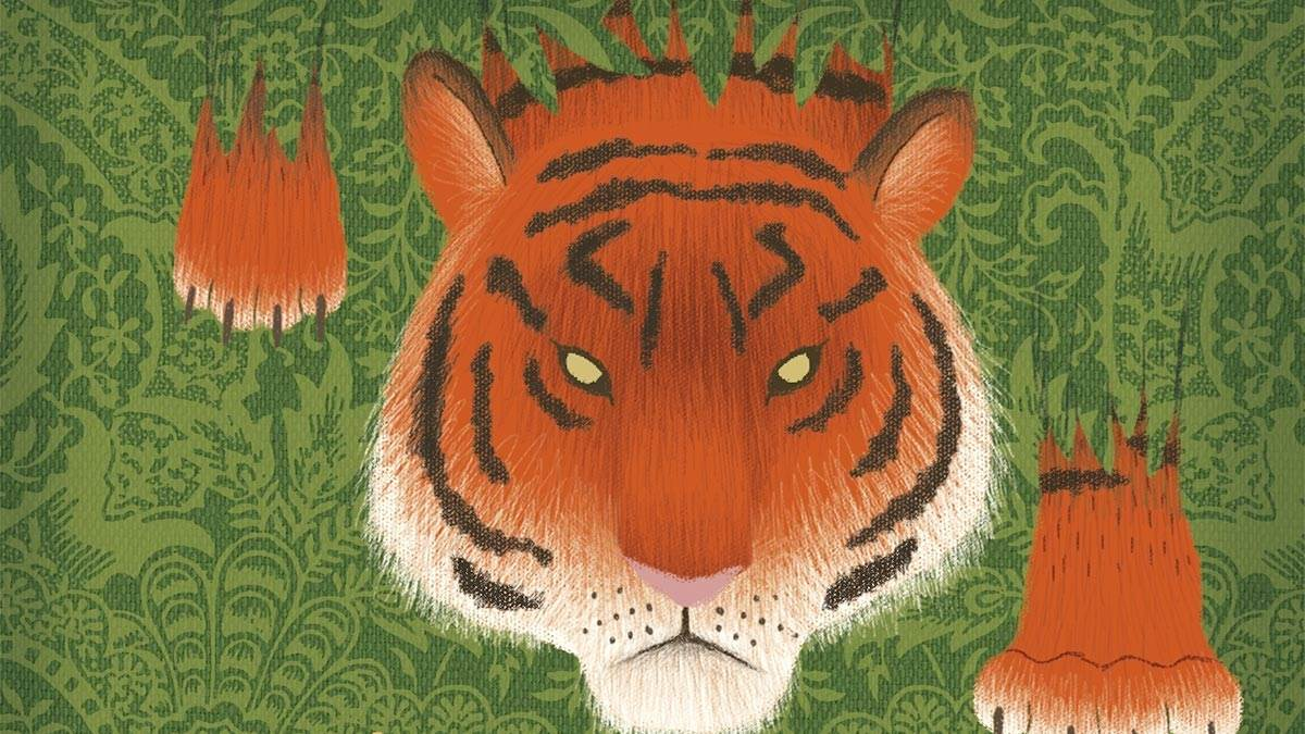 The front cover of The Jungle Book