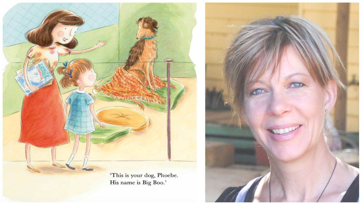 An illustration from Boo Loves Books and author Kaye Baillie