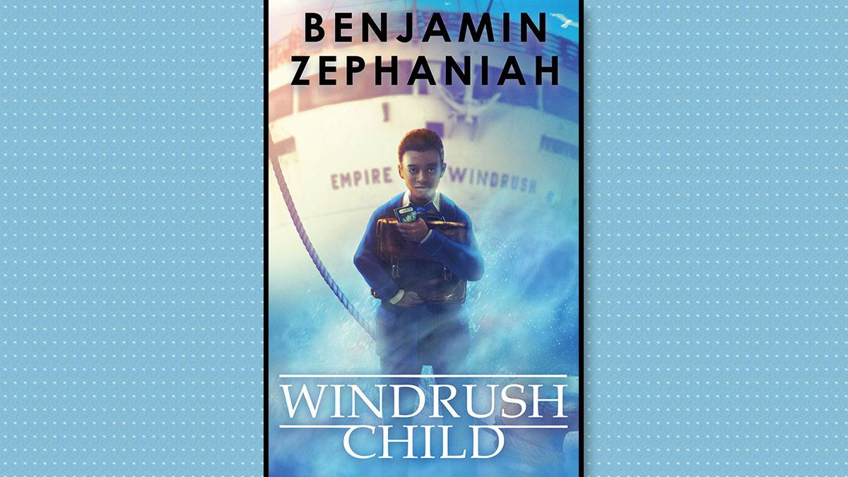 The front cover of Windrush Child
