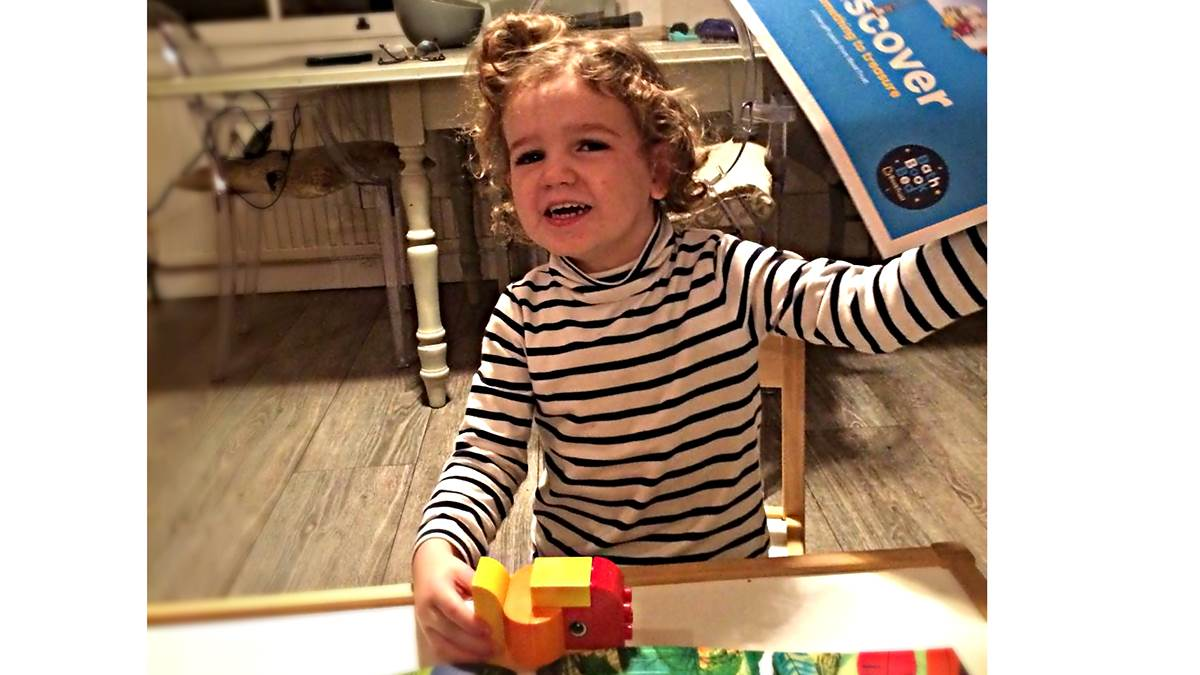 Bookstart and Lego