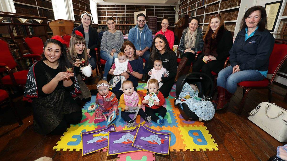 BookTrust NI and SONI in Armagh
