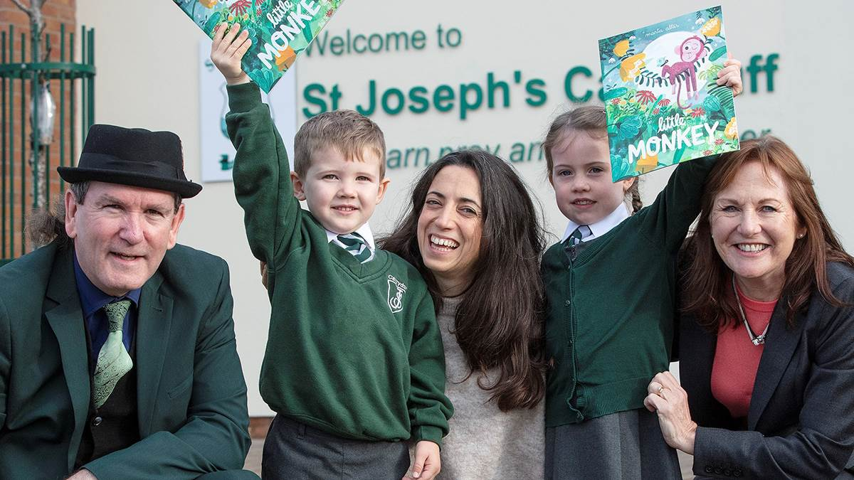 Marta Altes visits Northern Ireland schools
