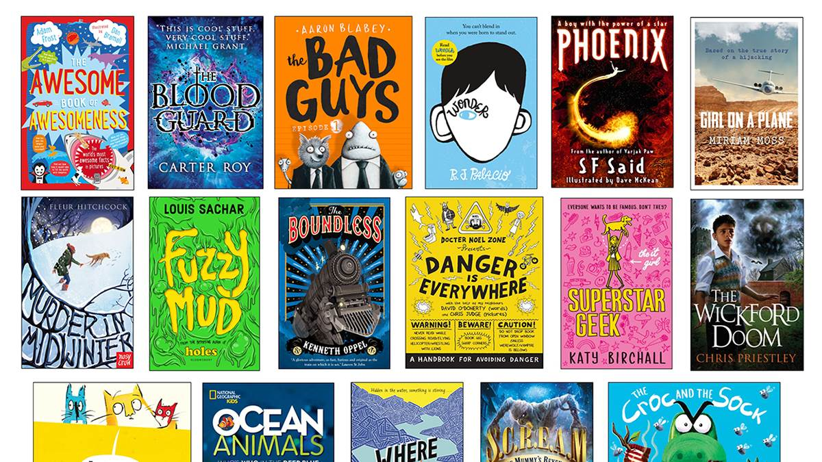 Bookbuzz 2017 books