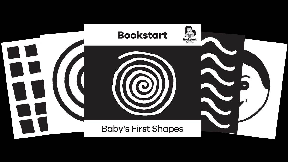 Bookstart B and W booklet BLK