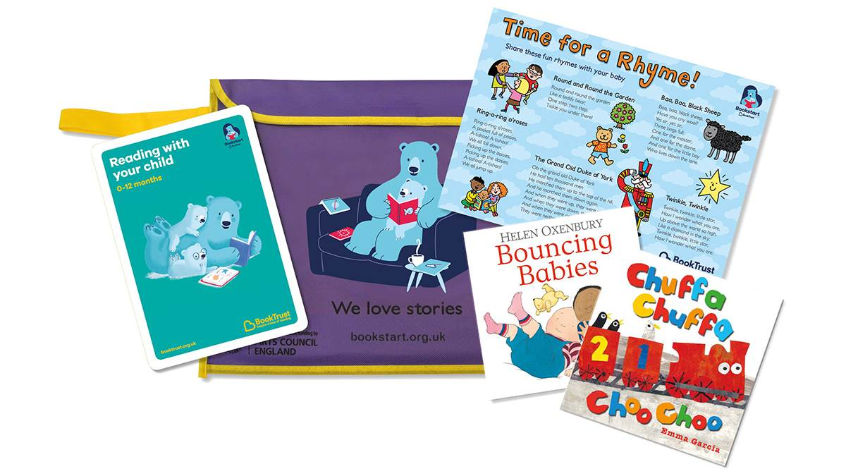 Bookstart Baby pack February 2019