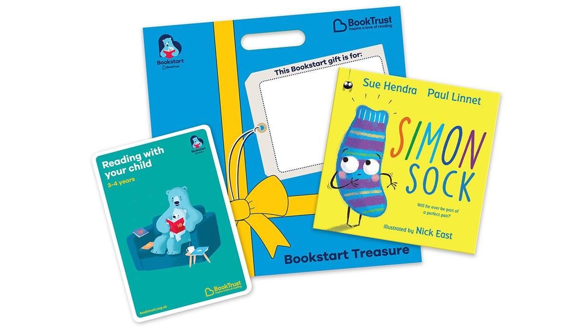 Bookstart Treasure pack February 2019