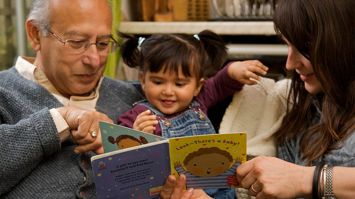 Dual language family reading