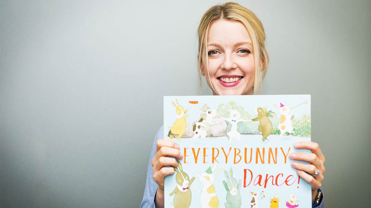 Lauren Laverne reads Everybunny Dance