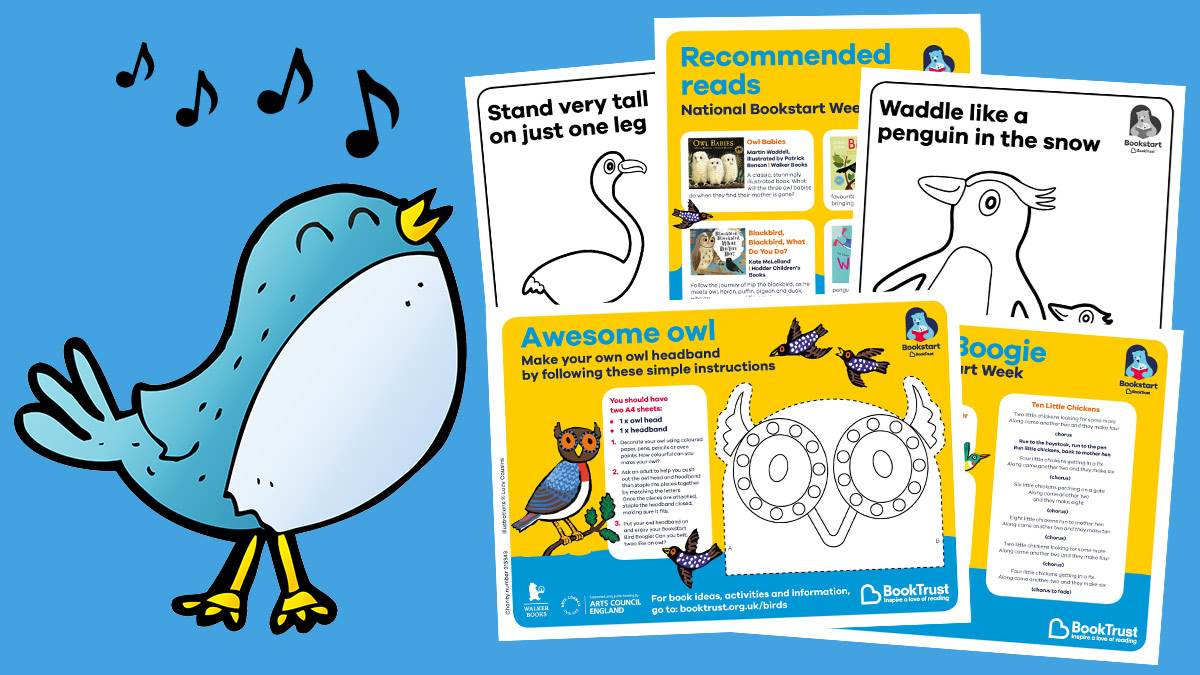Activities and rhymes image for National Bookstart Week