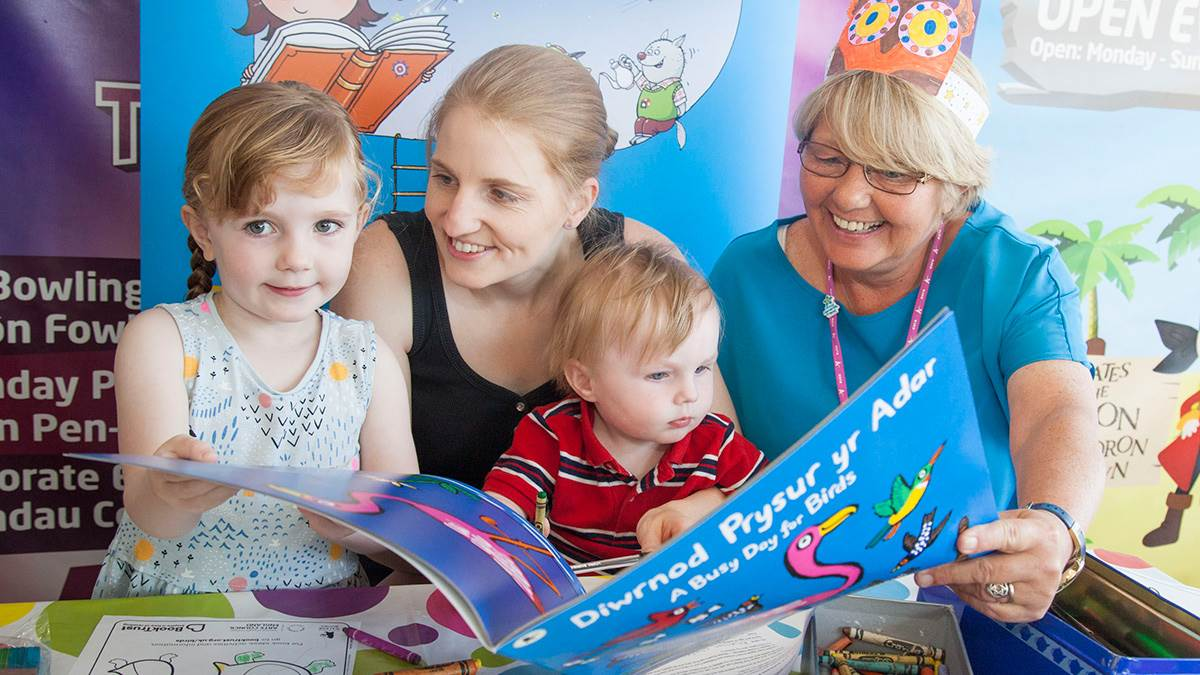 2018 National Bookstart Week event in Wales