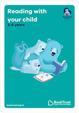 Reading with your child 3-4 years booklet English