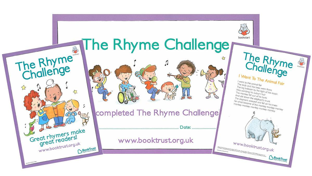 Rhyme Challenge resources for practitioners