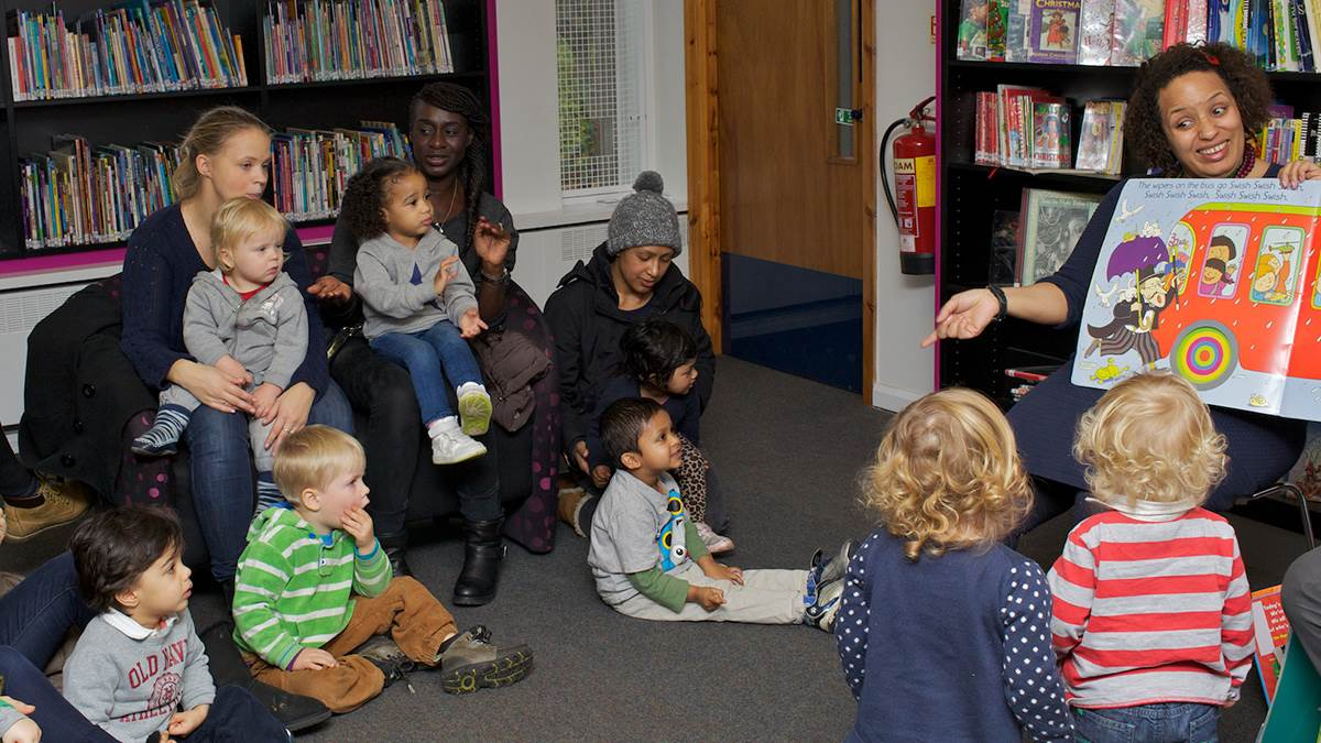 A Bookstart Rhymetime session