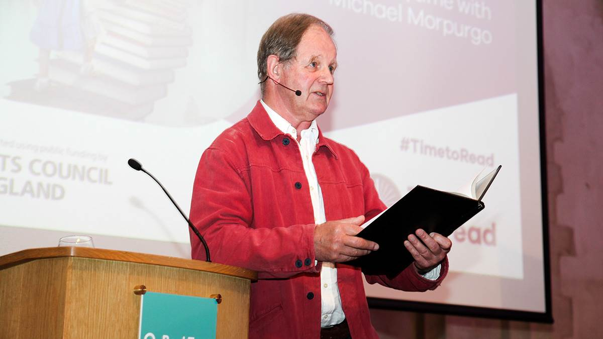Michael Morpurgo gives the BookTrust Annual Lecture 2016