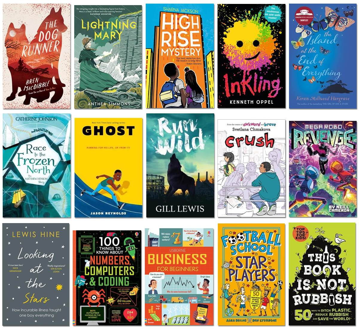 School Library Pack 2020 titles
