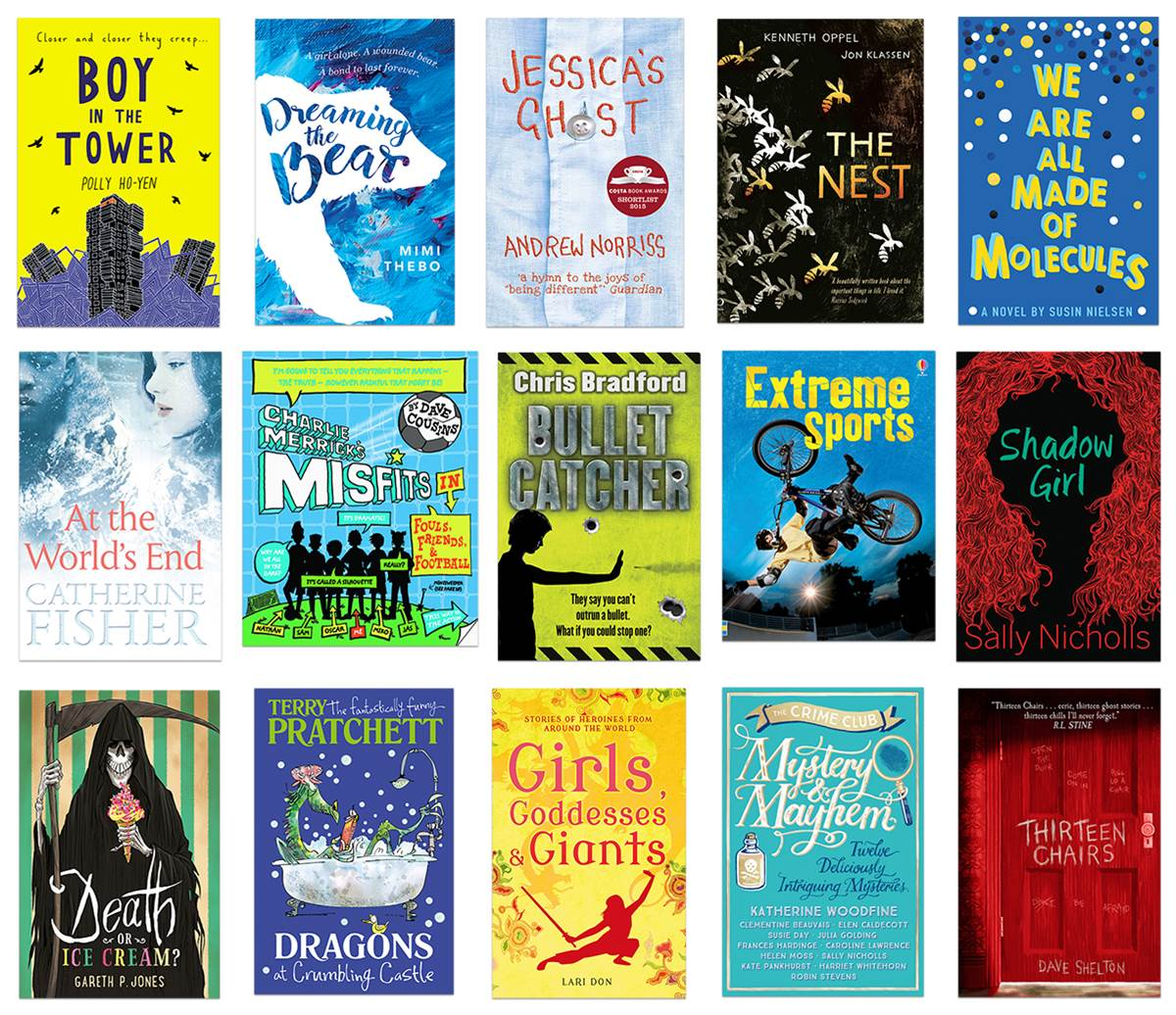 School Library Pack 2016-17 books