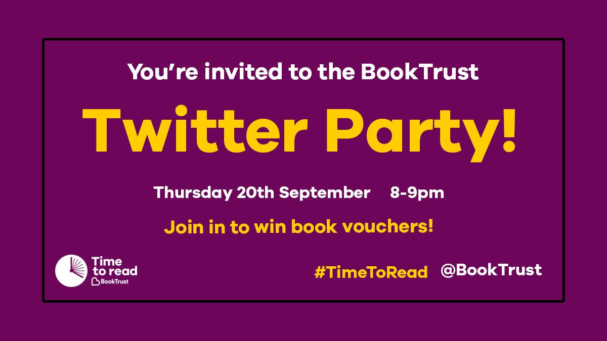 Time to Read Twitter party