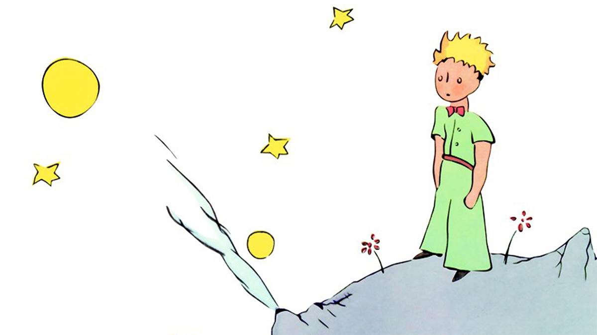 The front cover of The Little Prince